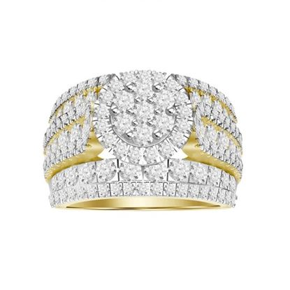 Picture of 3.00CT RD DIAMONDS SET IN 10KT YELLOW GOLD LADIES RING